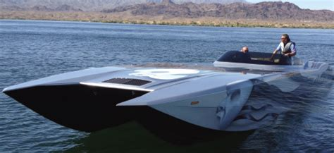 Mti Ufo Boat by Mti 48 Phantom Featured By Performance Boats