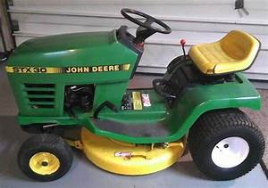 John Deere Stx30 Stx38 Stx46 Lawn Garden Tractors Service