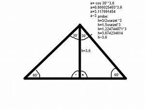 Wie Berechnet Man Die Höhe Eines Dreiecks : wie berechnet man die seite eines gleichseitigen dreiecks mathematik hausaufgaben geometrie ~ A.2002-acura-tl-radio.info Haus und Dekorationen