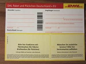 Dhl Paketversand Online : dhl paketschein paketmarke post paket ~ A.2002-acura-tl-radio.info Haus und Dekorationen