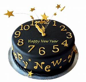 New Year Fondant Cake 2 - Fondant / 3D Cakes - Cakes by