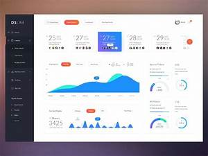 723 best great dashboard ui images on pinterest With banking dashboard templates