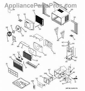 Parts For Ge Ash18dbs1  Room Air Conditioner Parts