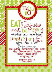 Custom designed christmas party invitations eat by marcylauren ideas pinterest party for Holiday party invitation ideas