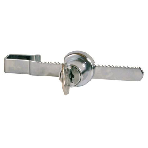 sliding glass door lock ratchet security lock for sliding glass showcase retail