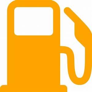Free orange gas station icon - Download orange gas station icon
