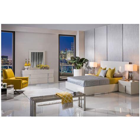 Ava King Platform Bed Made In Italy  El Dorado Furniture