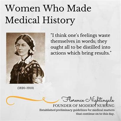History Medical Nightingale Florence Month Nurse Health