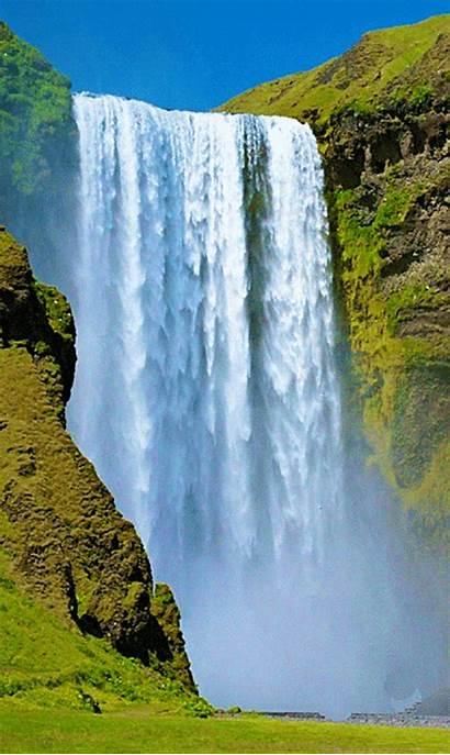 Water Waterfall Nature Scenery Mountain Waterfalls Landscapes