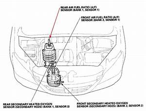 2007 Honda Odyssey Bank 2 Sensor 1 Location  Wiring