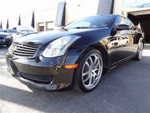 Find Used 2007 Infiniti G35 Sport Coupe 6spd Manual Black