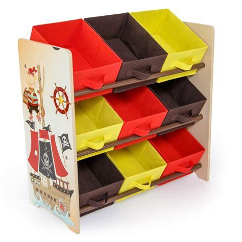 meuble de rangement 233 tag 232 re jouet panier chambre enfant motif pirate ape06006 d 233 coshop26