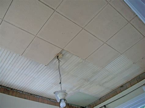 bedroom wall demo asbestos ceiling tiles robinson decor how to