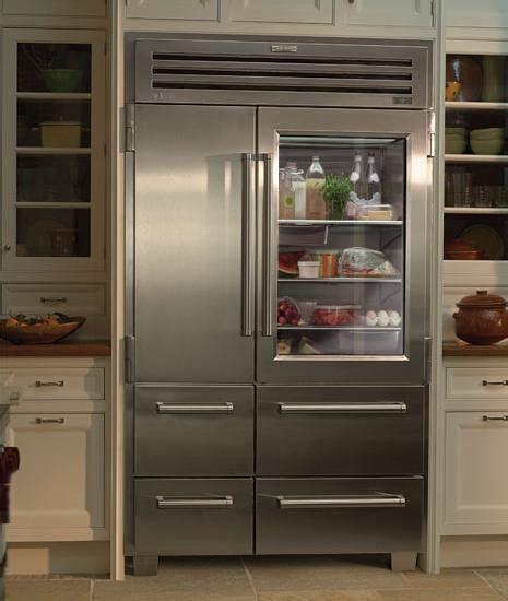 glass door fridge vignette design glass door refrigerators