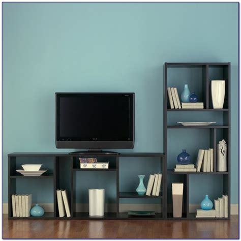 tv stand  matching bookcases bookcase home design