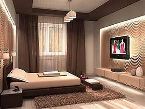 Bloombety : Brown Interior Bedroom Colors Interior Bedroom ...