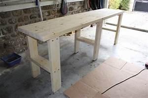 Etabli Fait Maison : fabriquer etabli bois bande transporteuse caoutchouc ~ Premium-room.com Idées de Décoration