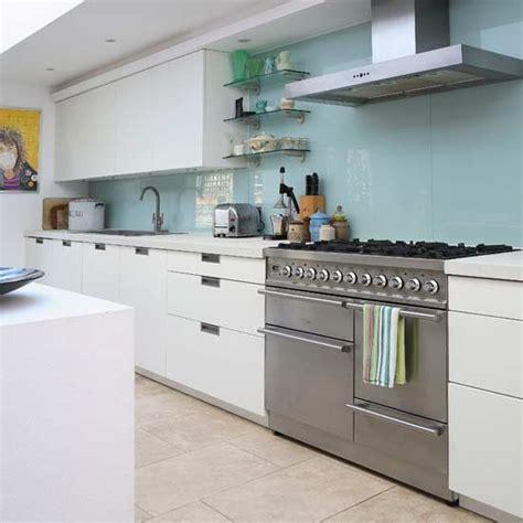 kitchen splashback ideas uk contemporary glass splashback kitchen kitchens kitchen ideas image housetohome co uk