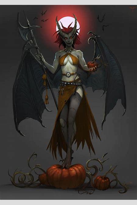 Halloween Succubus by telthona on DeviantArt
