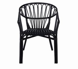 Chaise Rotin Noir : fauteuil goa rotin noir chaises but ~ Teatrodelosmanantiales.com Idées de Décoration