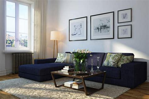 Blaues Sofa  50 Einrichtungsideen Mit Sofa In Blau, Die