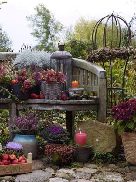 Garten Herbst Dekorieren by Der Herbst Kann Kommen Garten Garten Herbstgarten