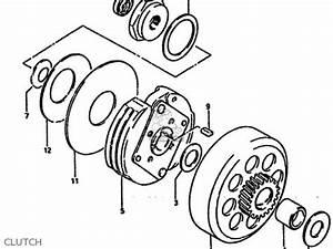 suzuki lt50 1985 f parts list partsmanual partsfiche With diagram of suzuki atv parts 1986 ltf230 starter clutch diagram