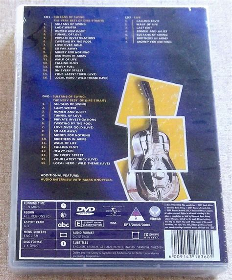 dire sultan of swing dire straits sultans of swing best of 2 cd dvd south