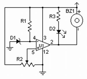 how to build low voltage alarm circuit diagram With low voltage alarm