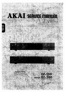 Service Manual Akai F 7 L Fd 7 L Ep 7 Schematic Diagram