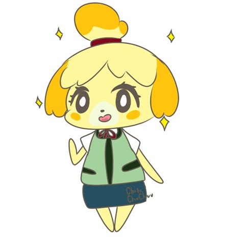 Isabelle Animal Crossing Wallpaper - isabelle animal crossing by chibichuchuu on deviantart
