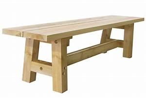 Table Banc Exterieur : banc pour table diner ext rieure en bois de c dre blanc canadien ogni ~ Teatrodelosmanantiales.com Idées de Décoration