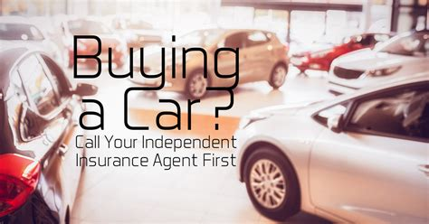 You can receive a completely free quote on the an insurance agency owner makes between 50,000 and 150,000 dollars a year. Buying a Car? Why You Should Call Your Independent ...