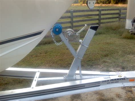 Fishing Boat Trailer Parts by Proper Boat Placement On Trailer The Hull Truth