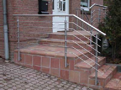 was kostet ein treppengeländer qualit 228 tsvolles treppengel 228 nder aus edelstahl preis per lfm
