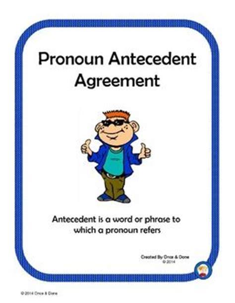 images  pronoun antecedent agreement