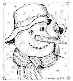 snowman christmas coloring pages christmas drawing