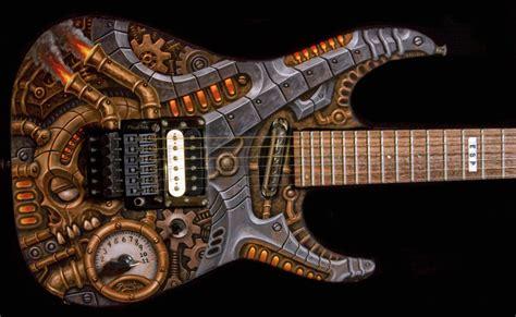 steampunk guitar by tat2pooch on DeviantArt