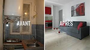 Renovation Maison Avant Apres Travaux : superbe renovation cuisine bois avant apres 2 superbe ~ Zukunftsfamilie.com Idées de Décoration