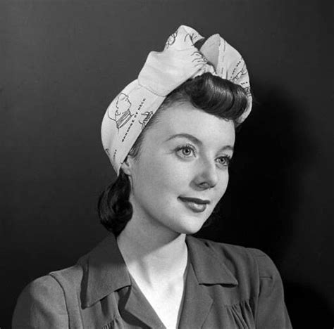 1940s Hairstyles With Scarf hair color bangs hairstyles medium