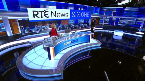 RTÉ News Motion Graphics and Broadcast Design Gallery