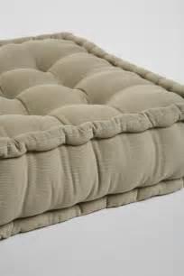 Corduroy Tufted Floor Pillow