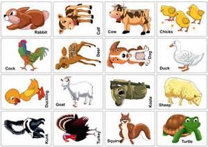 9 best images of printable farm animal flash cards farm