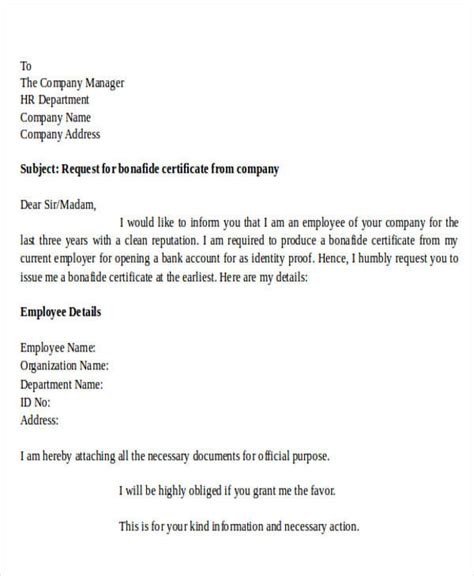 application letter  principal  bonafide certificate