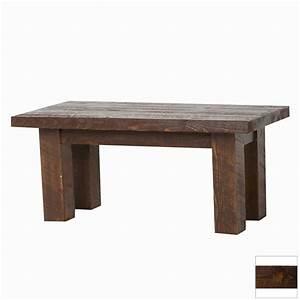 shop viking industries barnwood dark pine rectangular With dark pine coffee table