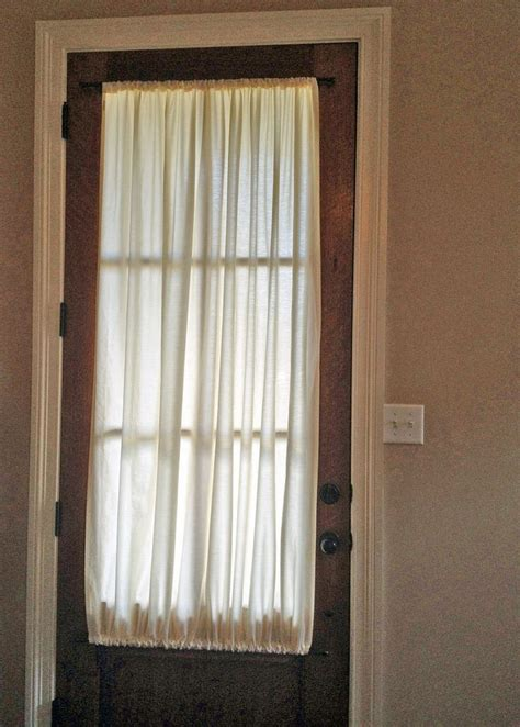 17 best ideas about front door curtains on