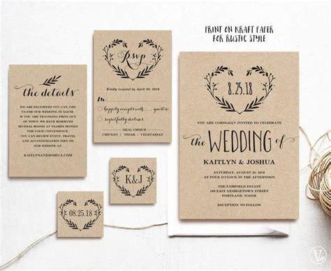 Best 25+ Wedding Invitation Templates Ideas On Pinterest