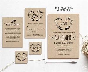 best 25 wedding invitation templates ideas on pinterest With 2 in 1 wedding invitations