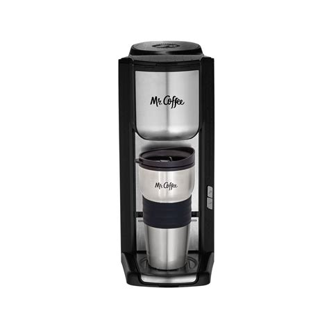 It not only comes with auto on/off technology, but you can set the water temperature manually, strength of brew, and accommodate various sizes. Mr. Coffee Single Cup Coffee Maker - Walmart.com - Walmart.com
