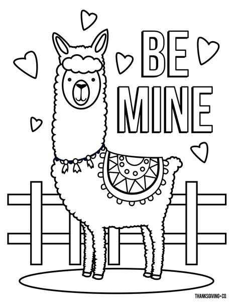 4 free Valentine's Day coloring pages for kids